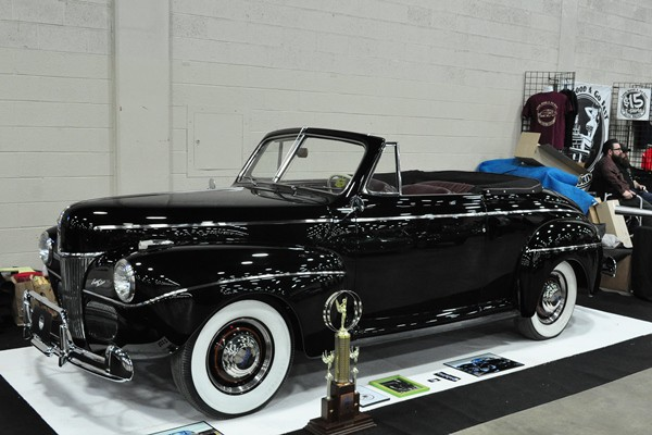 Larry Woldhon 1941 Ford Convertible