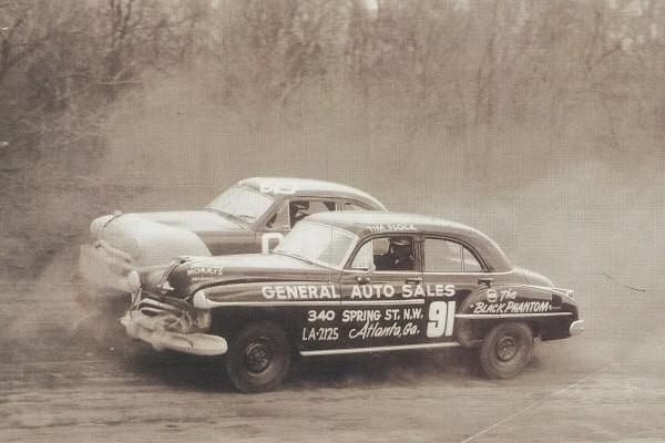 1951 Oldsmobile four-door Tim Flock