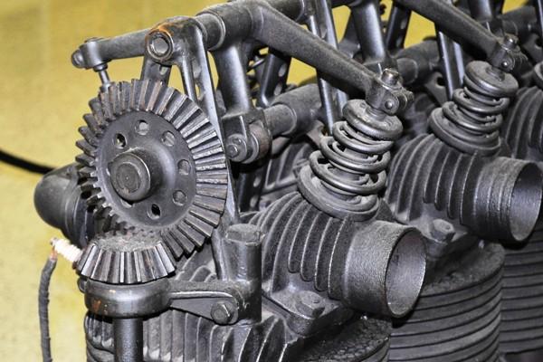 1903 Premier valvegear