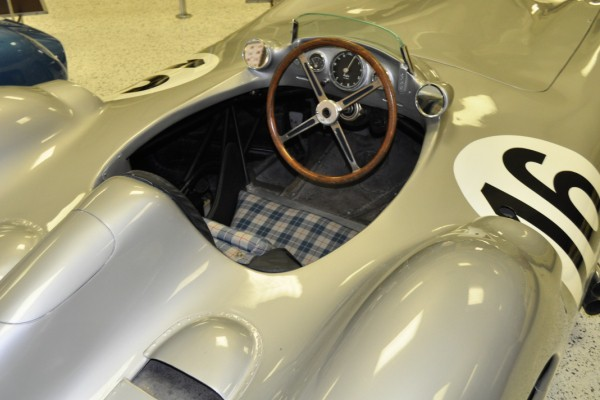 1954 Mercedes-Benz W196 cockpit