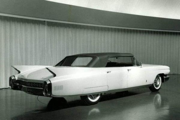 1960 Cadillac four-door convertible