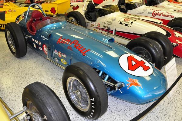 1960 Watson Indy 500 winner Jim Rathman