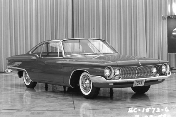 1962 Plymouth Super Sport proposal