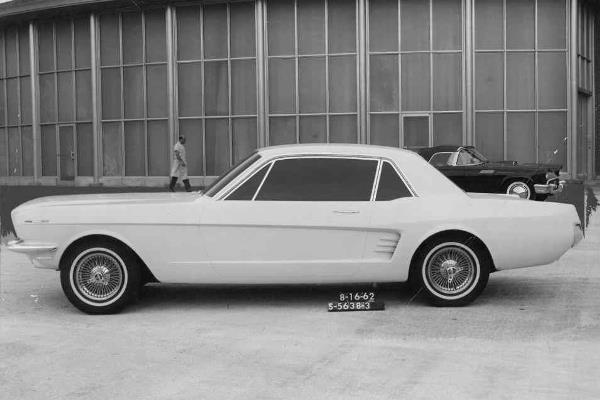 1965 Mustang clay model dated 8-16-62
