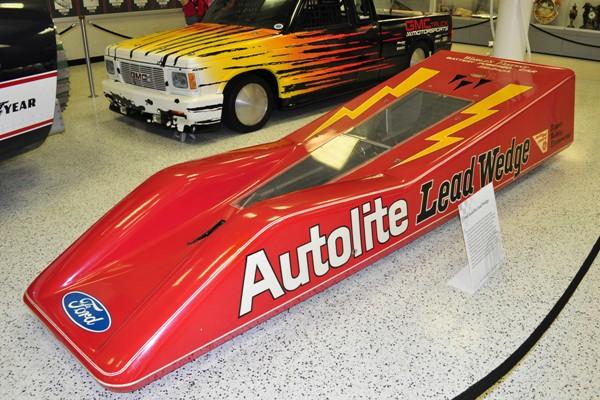 1968 Autolite Lead Wedge Bonneville racer Jerry Kugel