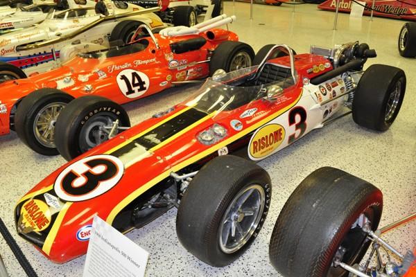 1968 Eagle-Offy Indy 500 winner Bobby Unser