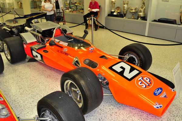 1969 Hawk-Ford Indy 500 winner Mario Andretti