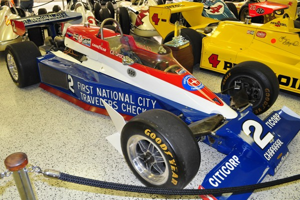 1978 Lola-Cosworth Indy 500 winner Al Unser, Sr.