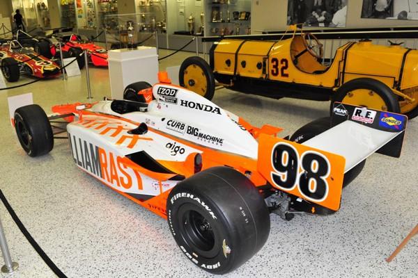 2011 Dallara-Honda Indy 500 winner Dan Wheldon