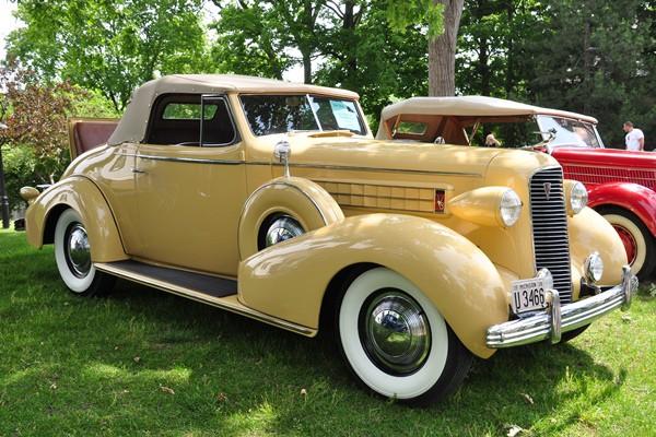 1936 Cadillac 6067 Convertible Coupe Gene Matti
