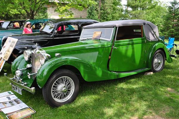 1938 MG MGSA Lee Jacobson