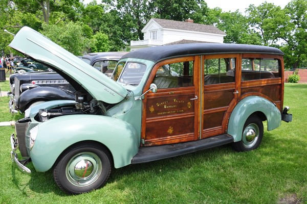 1940 Ford Deluxe Station Wagon Robert Lowery