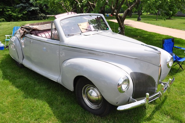 1940 Lincoln Zephyr Convertible Jeffrey Booth