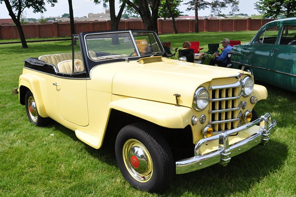 1950 Willys-Overland Jeepster Jim King