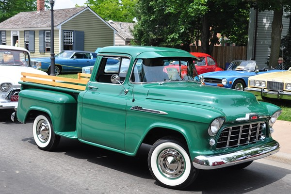 1956 Chevrolet 3100 Series Pickup Michael Hardy