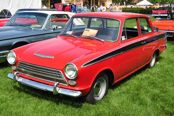 1964 Ford Cortina GT Andrew Dixon