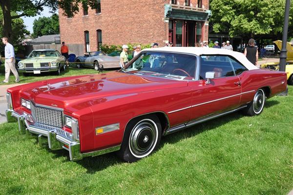 1976 Cadillac Eldorado convertible Charles Wiltsie