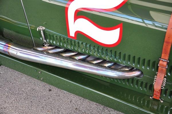 1923 Miller 122 Dan Davis exhaust header