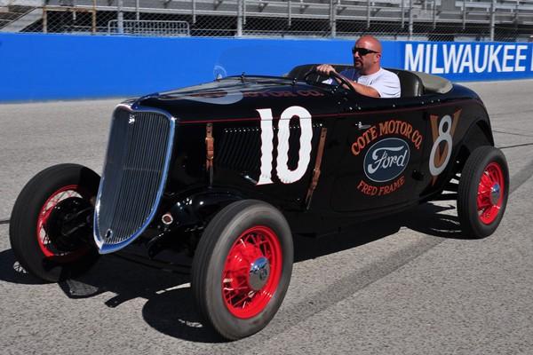 1933 Ford Fred Frame racer