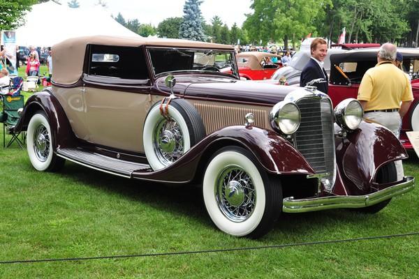 1933 Lincoln KB Brunn Convertible Victoria Evergreen Historic Automobiles