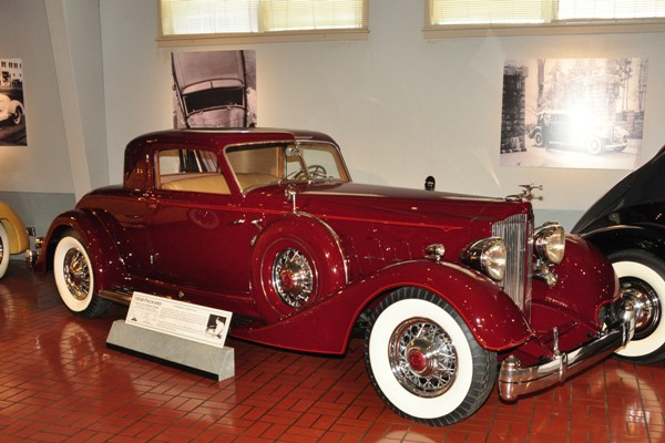 1934 Packard Two-Place Dietrich Coupe