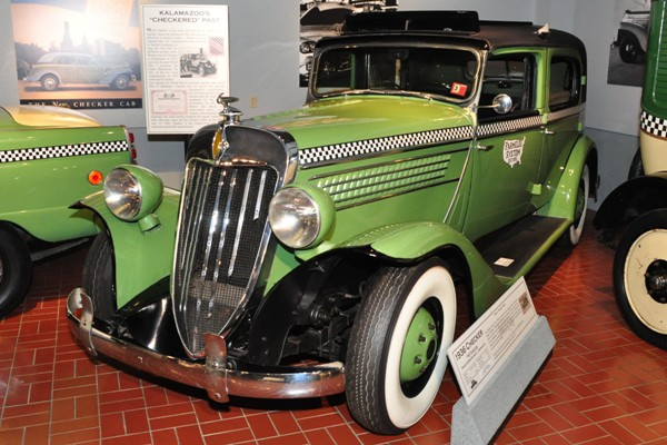 1938 Checker Y-8 Taxicab