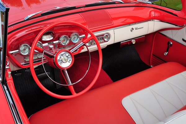 1958 Edsel Pacer Convertible Herb Wiese interior