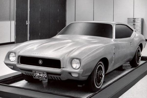 1974 AMC Javelin clay proposal 1970