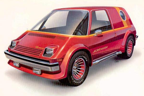 1977 AM Van Concept