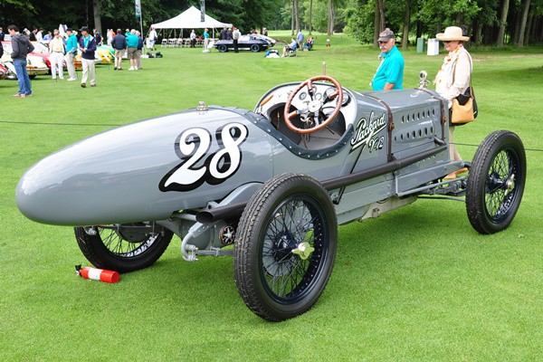 1916 Packard Twin Six Racer Gilmore Car Museum rear