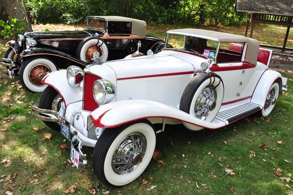 1929 Cord L-29 Cabriolet white Ken Clark