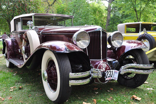 1929 Cord L-29 Phaeton Dick Greene