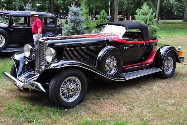 1933 Auburn 12-165 Speedster Lou Ficco