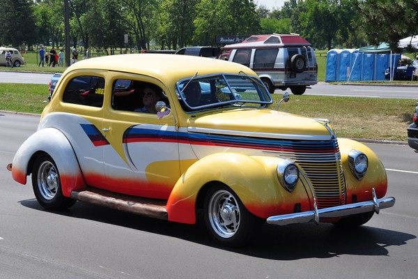 1938 Ford Standard Tudor Touring Sedan