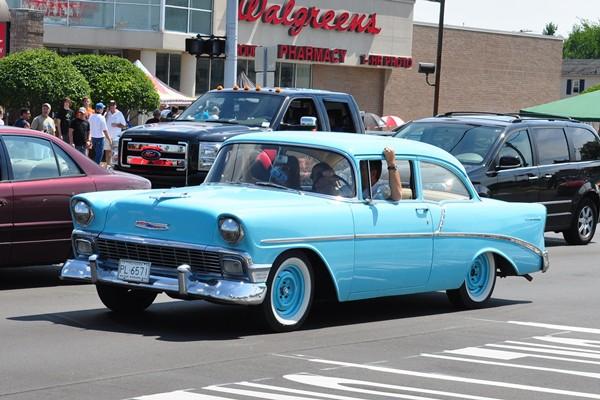 1956 Chevrolet 210 2D post