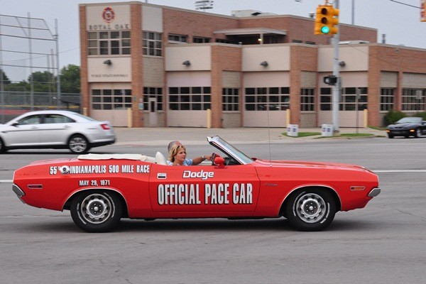 1971 Dodge Challenger convertible pace car