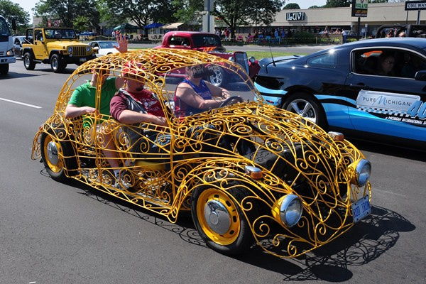 Volkswagen wrought iron Beetle