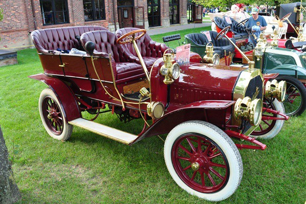 1908 Buick Model F Touring Bob Barrett