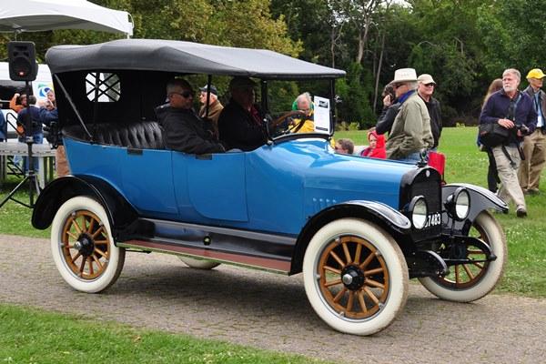 1917 Gray Dort Nine Touring Gary Cornillard