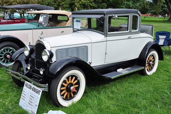 1928 Falcon-Knight Coupe Model 12 Rumble Seat Coupe Gene and Martha Potts
