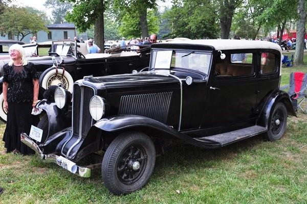 1931 Auburn 8-98 Brougham Bill and Judy Rettburg