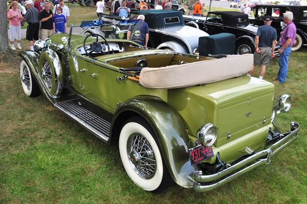 1931 Duesenberg J-423 Derham Tourster rear Terence Adderly