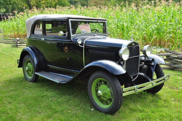 1931 Ford Model A Convertible Sedan John Grace