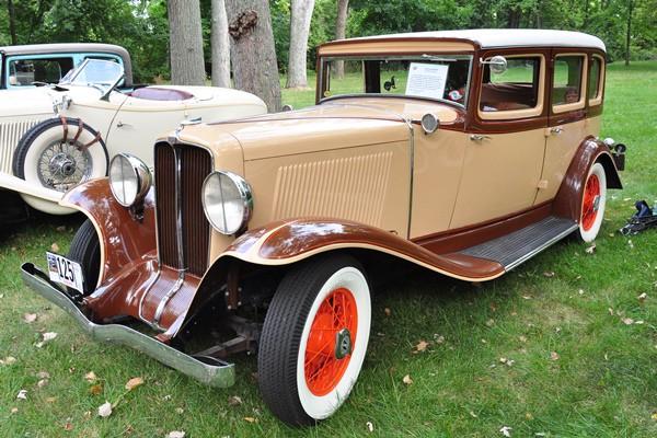 1932 Auburn 8-100A Sedan Mike and Jane Dube