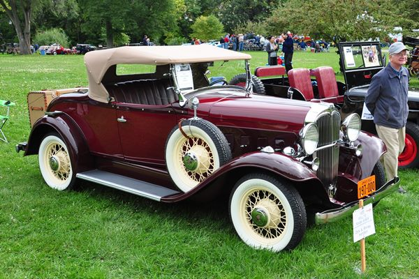 1933 Willys-Overland 6-90A Roadster Richard and Shirley Hamilton