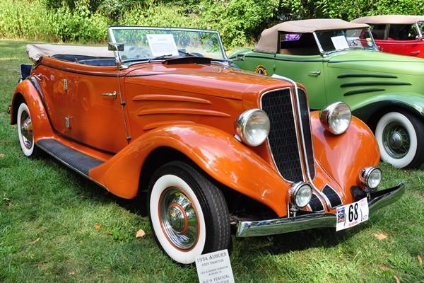 1934 Auburn 652Y Phaeton Lee and Bonnie Gorsuch