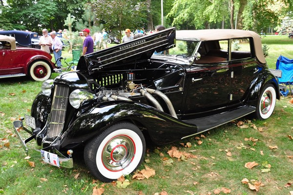 1936 Auburn 852 Phaeton Glenn Hamilton