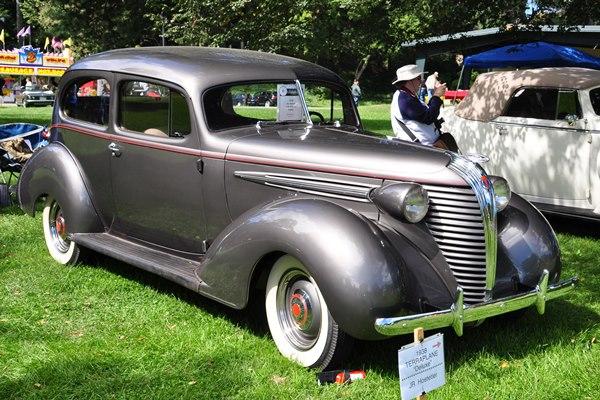 1938 Terraplane Deluxe Coach JR Hostetler