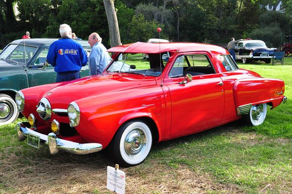 1950 Studebaker Champion Starlight Coupe Harvey and Julie Snitzer