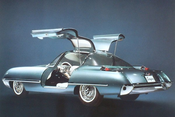 1962 Ford Cougar Concept left rear